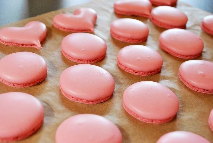 『ホワイトチョコレートとフランボワーズのマカロン』Lesson