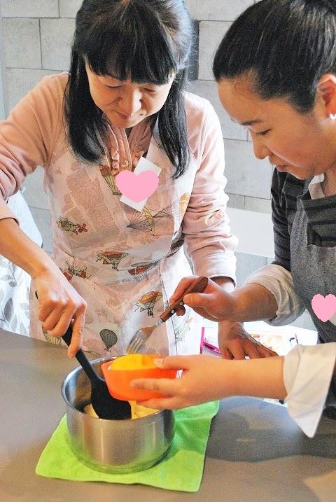 『苺のパリブレスト』Lesson
