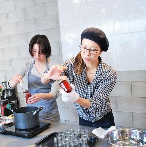 『苺と胡椒のコンフィチュール』Lesson