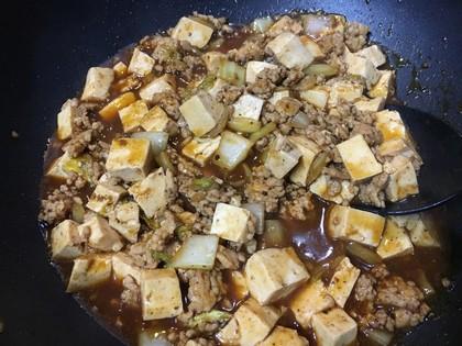 麻婆白菜豆腐