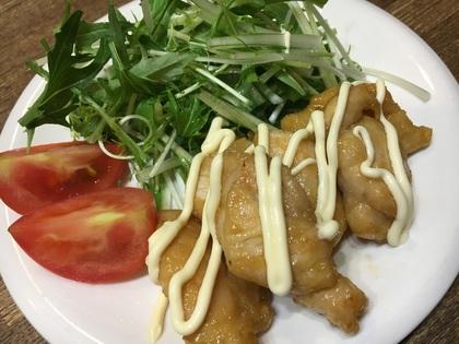 鶏ささみのポンマヨ