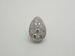 ダイヤのペンダントトップBefore1