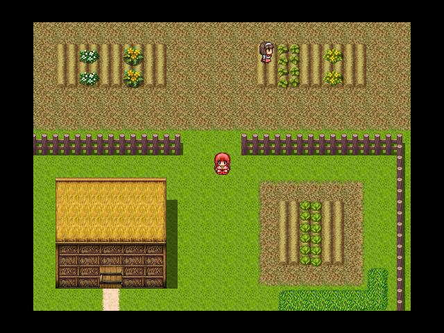 発展前の村