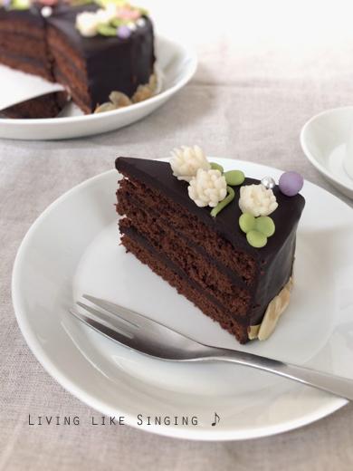 花かんむりのバースデーケーキ④