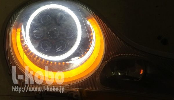 ボクスターヘッドライト2