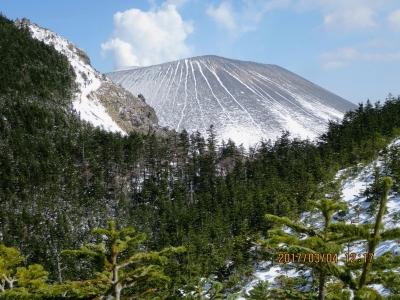 浅間山が見えてきた。