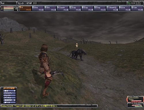 FF11 戦闘時UI