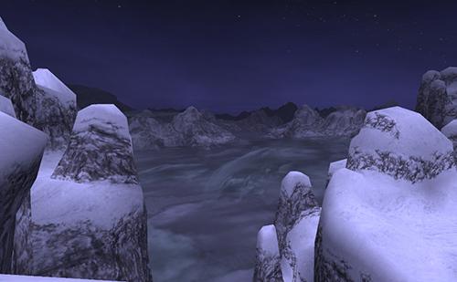 熊爪嶽の夜も美しい