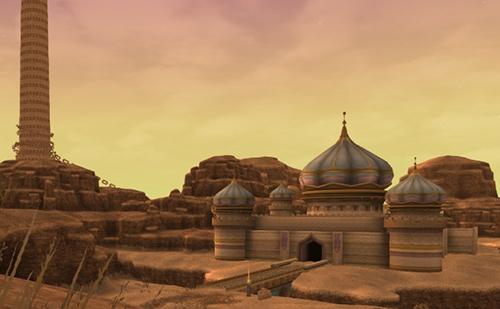 砂漠の宝石 アラハギーロ王国