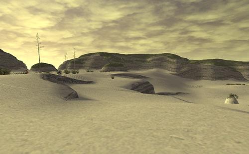 バルクルム砂丘っぽいですね