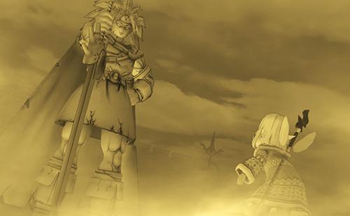 絶望した勇者の像はアンルシアの心