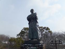 長崎 龍馬がゆく道 坂本龍馬の銅像