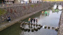 長崎さるく 中島川遊歩道