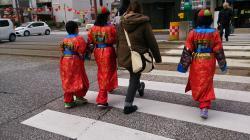 長崎さるく 皇帝パレードへ