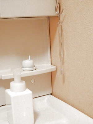 歯ブラシ収納 洗面所の掃除