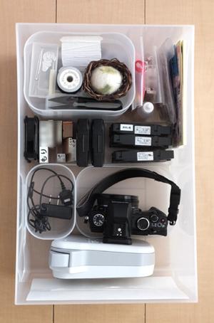 リビング 収納 カメラ