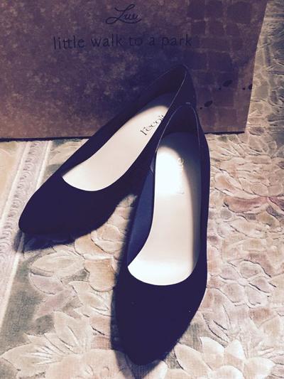 黒い靴 日本製 パンプス