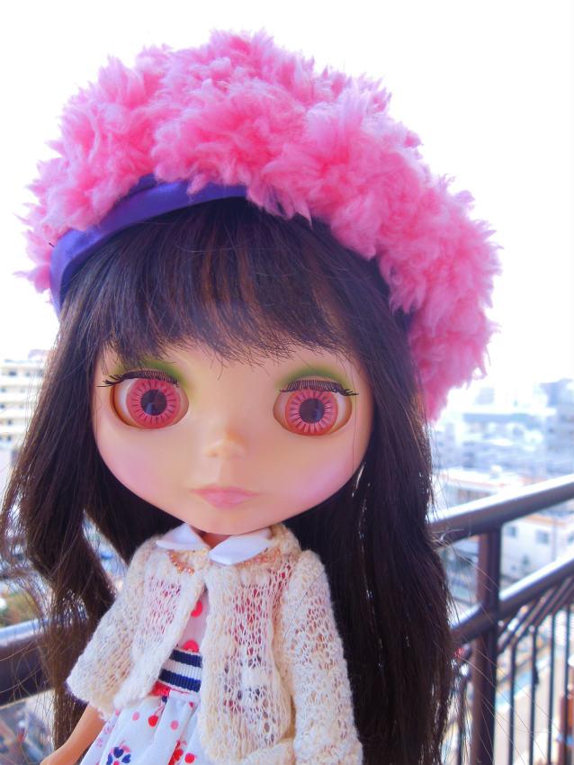 2017ピンクベレー帽15