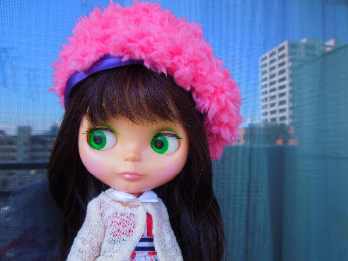 2017ピンクベレー帽5