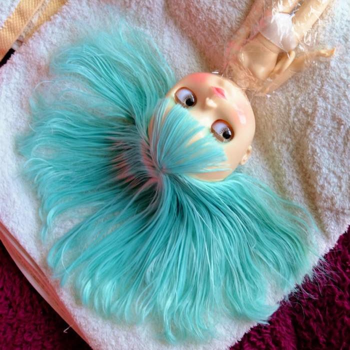 青髪さん8