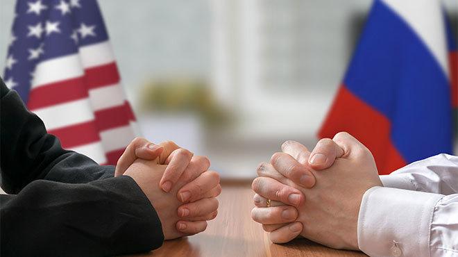 アメリカとロシア