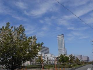 いい天気の大阪