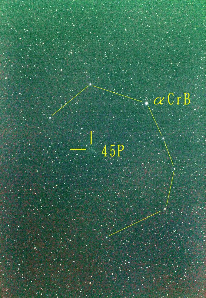 本田・ムルコス・パイドゥシャーコヴァー彗星20170213