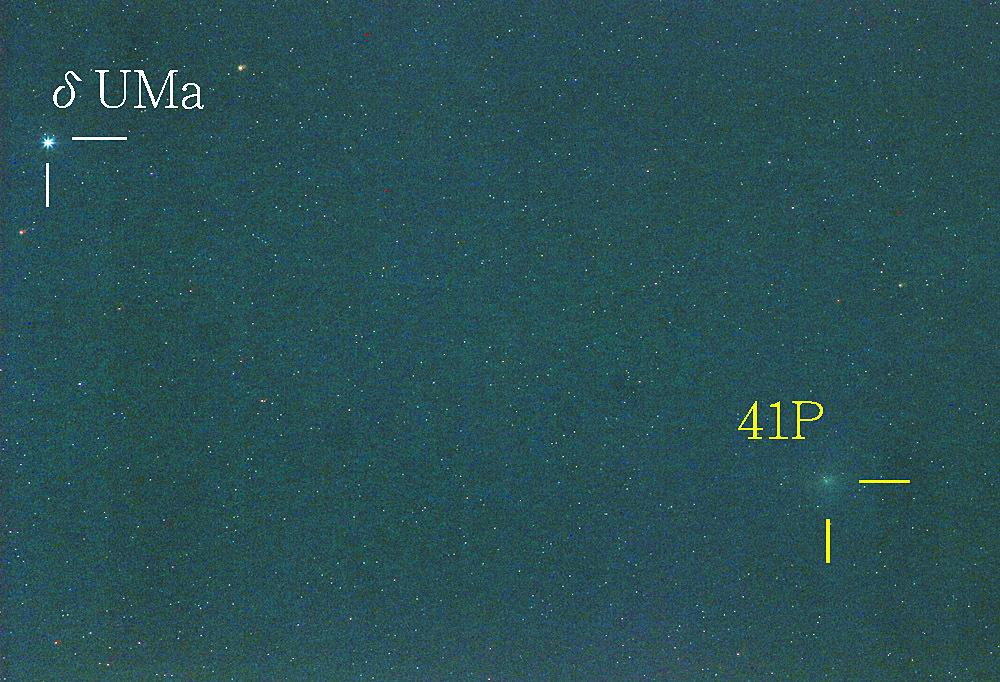 タットル・ジャコビニ・クレサーク彗星2017年3月27日23時21分