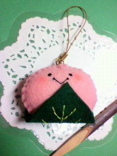 桜もちストラップ
