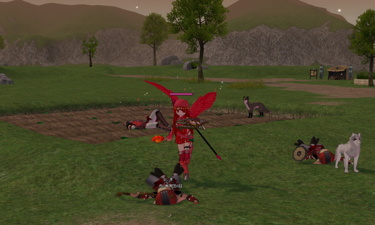 赤い略奪団4
