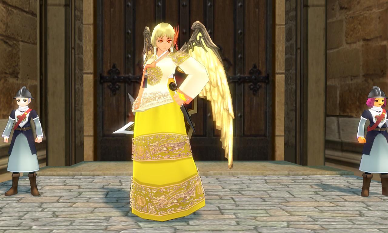 王妃の宮殿衣装1