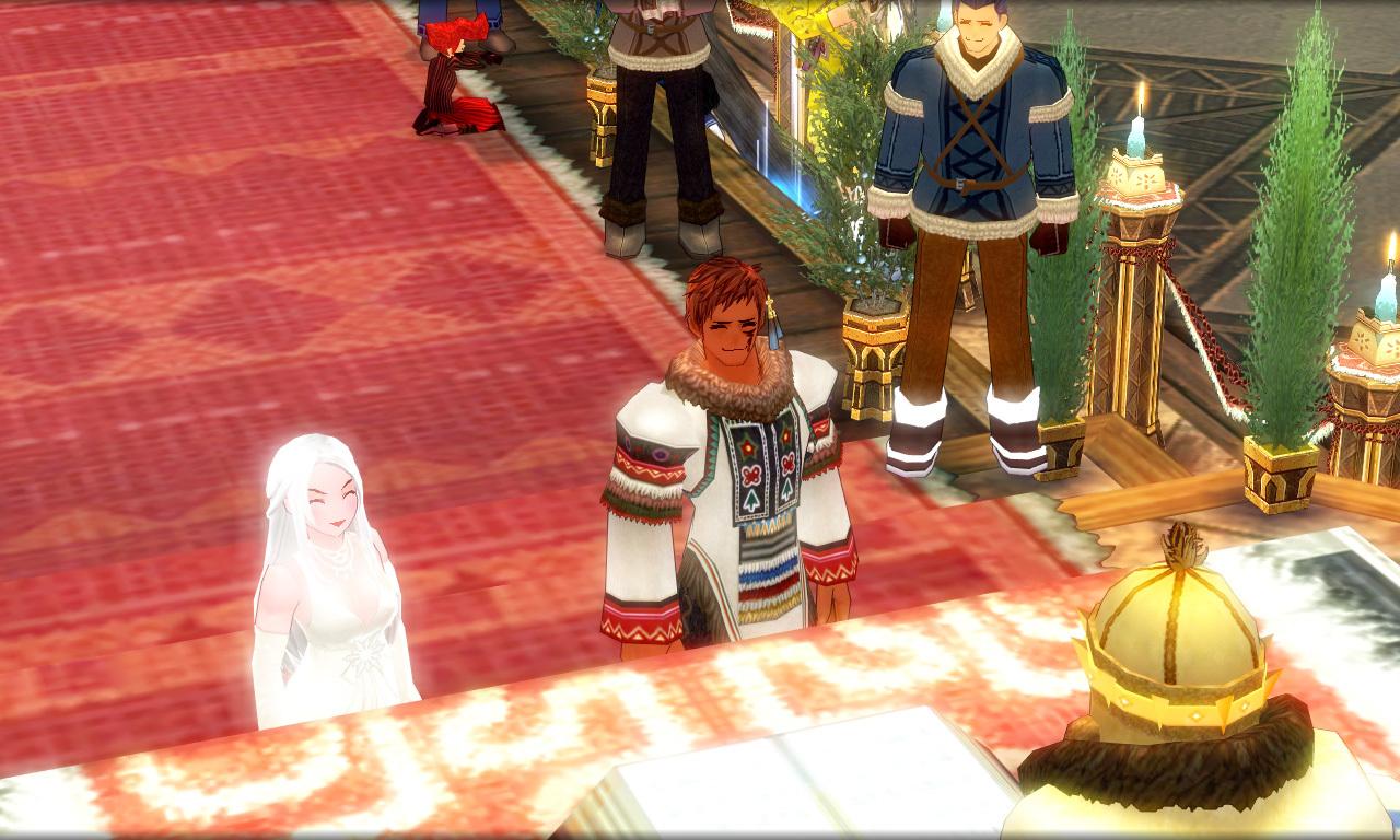 巨躯の極エイプリルフール結婚式1