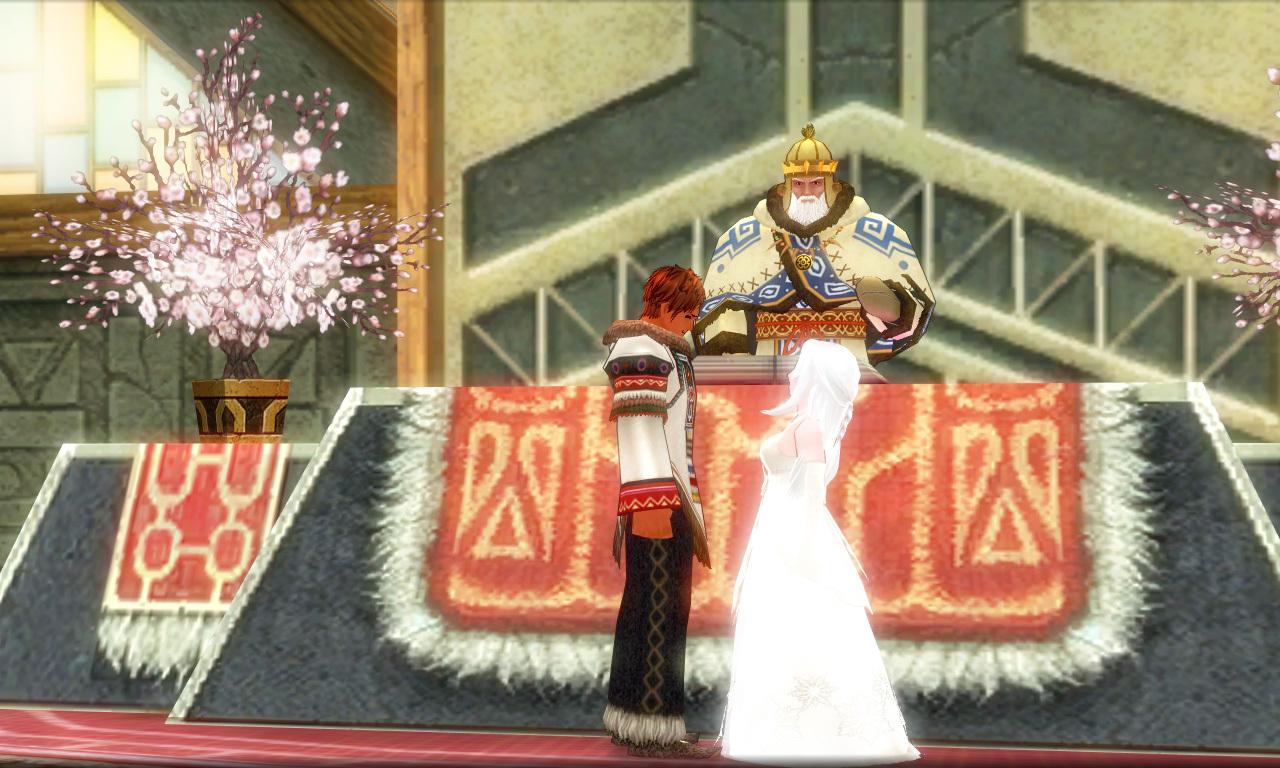 巨躯の極エイプリルフール結婚式2