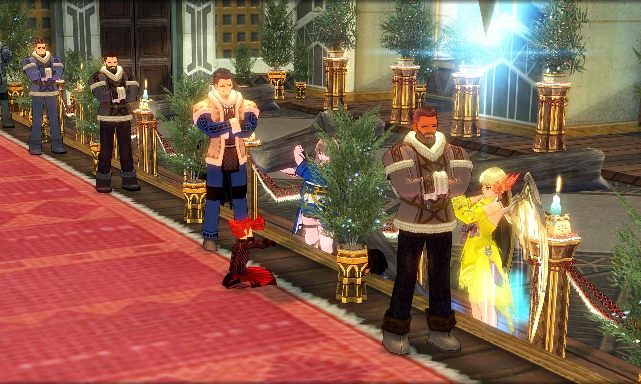 巨躯の極エイプリルフール結婚式3
