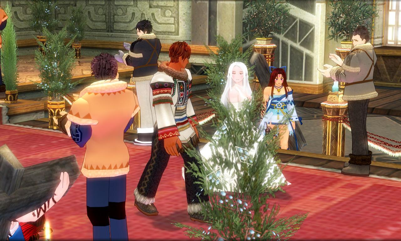 巨躯の極エイプリルフール結婚式4
