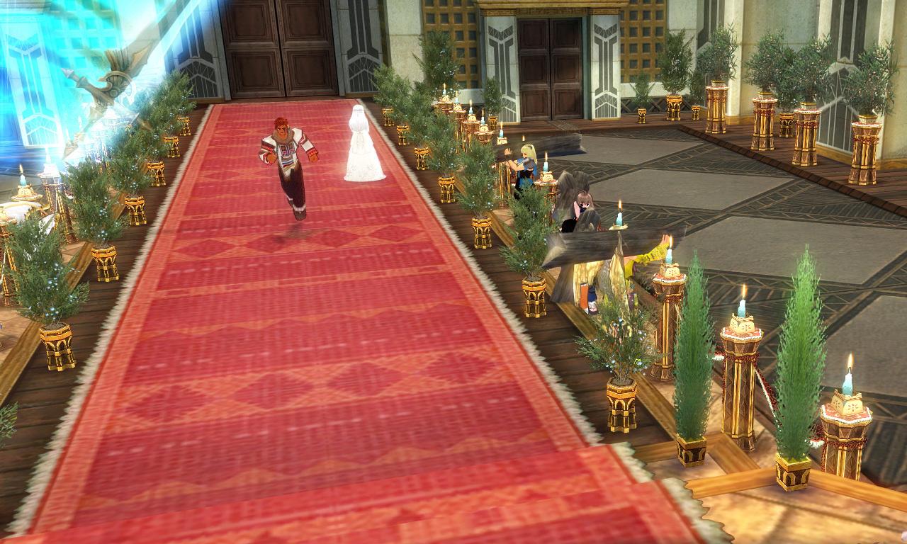 巨躯の極エイプリルフール結婚式5