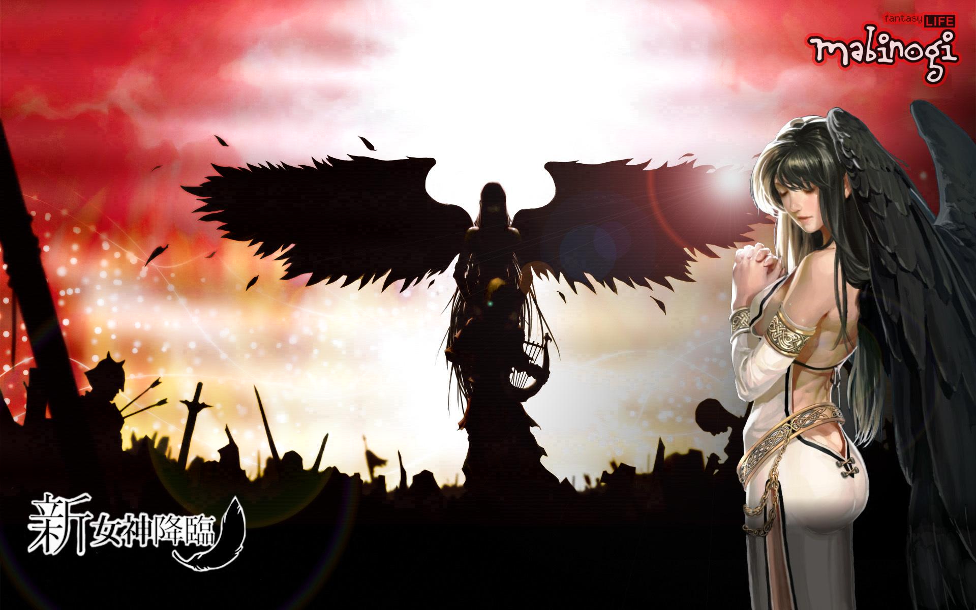 新女神降臨壁紙2