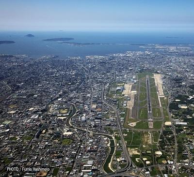上空福岡空港