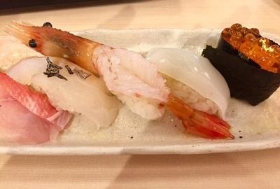 紅白祝い寿司を