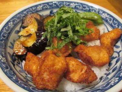 フグの唐揚丼1
