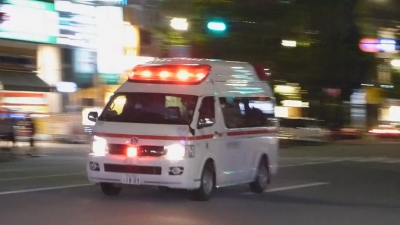 夜の救急車