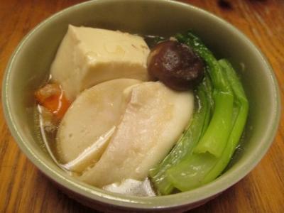 ヒラメの寄せ鍋小鉢2