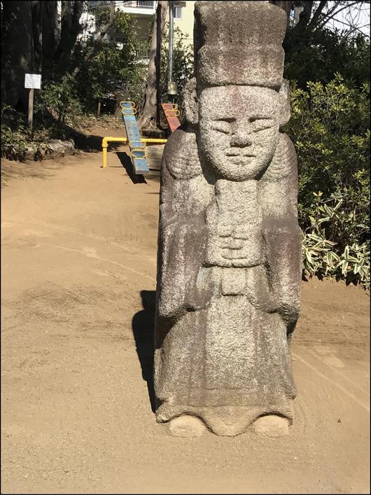 調布祇園寺 像
