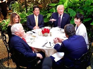 170210 トランプ大統領夫妻と安倍首相夫妻の夕食会 AS20170211001417_commVGA