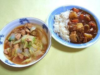 170411_4564 白菜の味噌煮・チキンカレーVGA