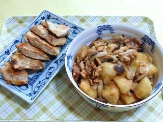 170418_4591 鶏むね肉の蒸し焼き・じゃが芋と豚肉の甘辛照り煮VGA