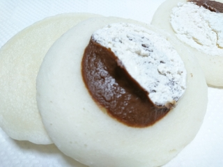 ローソン もちっとパンケーキ ジャンドゥーヤ&ホイップ¥140a