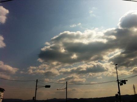 良い天気です