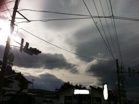雲行きが怪しい2