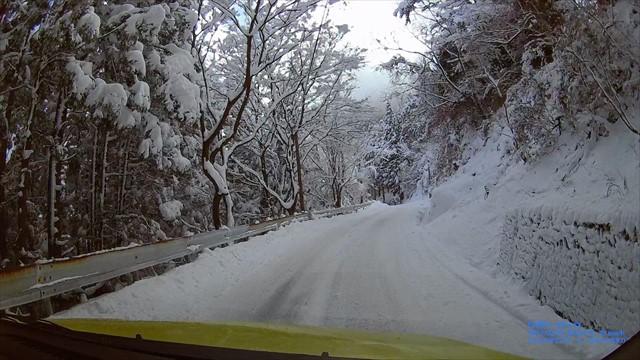 雪の英彦山へドライブ-23